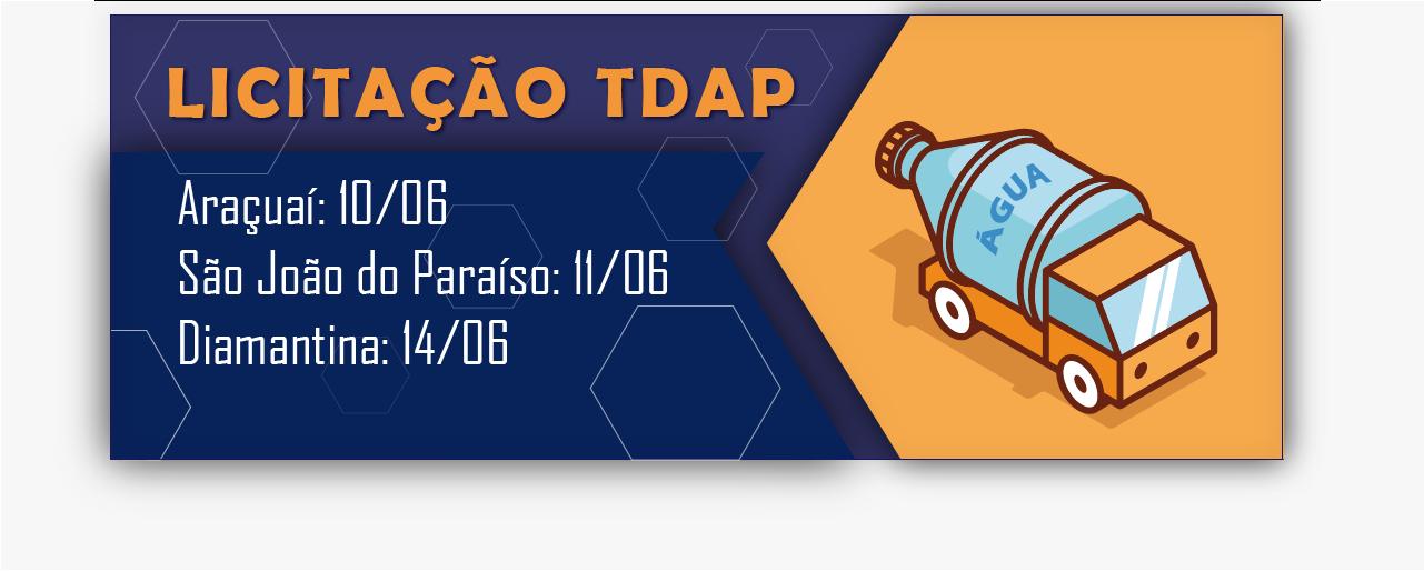 Licitação TDAP