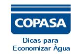 Banner Copasa - Dicas para economizar Àgua
